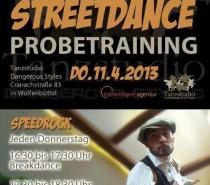 Streetdance – Probetraining im C 83