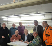 Kooperationsvertrag mit ADFC unterzeichnet