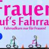 Interkultureller Fahrradkurs für Frauen – ausgebucht!