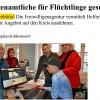 Presseresonanz Ehrenamt für Flüchtlinge