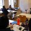Besuche bei der Oskar Kämmer Schule und im Haus der Kulturen