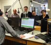 Ankommenspaten im Radio