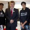 Jugendliche fragen Politiker am Tag der offenen Tür in Wolfenbüttel