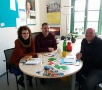 Rein ins Ehrenamt – Radio und Besuch in Verden