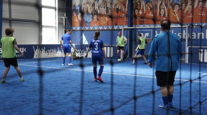 Weiteres Fußballturnier mit der Freiwilligenagentur
