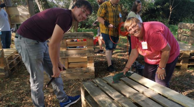 Ein sozialer Tag im Garten – Nachbetrachtung