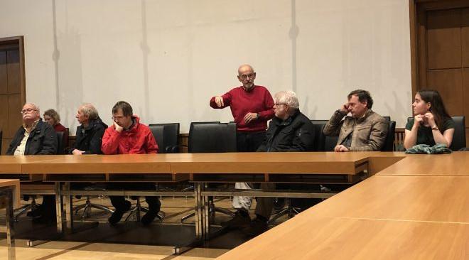 """Das Projekt """"Wir wollen Demokratie"""" war im Rathaus in Braunschweig"""