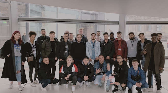Mit dem Jugendforum in Berlin