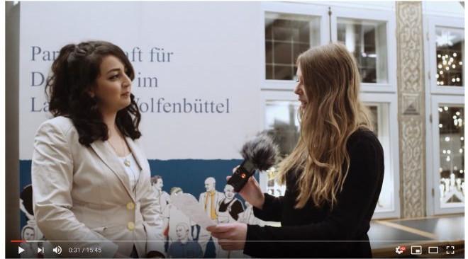 """Video: Statement """"Gegen Gewalt an Frauen"""""""