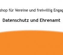 Workshop Datenschutz und Ehrenamt in Remlingen