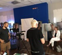 Fotoausstellung wird digital begleitet – erste Videos aufgezeichnet