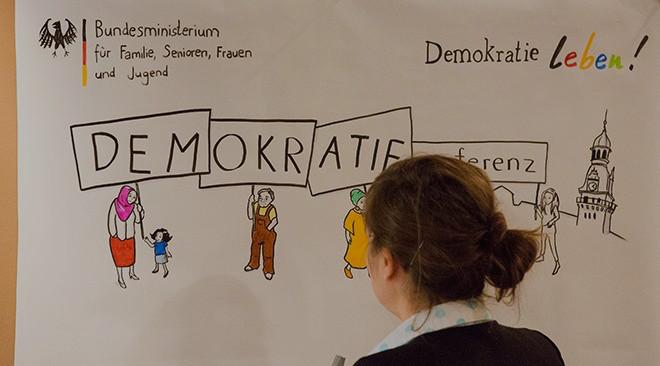 Demokratiekonferenz in Wolfenbüttel