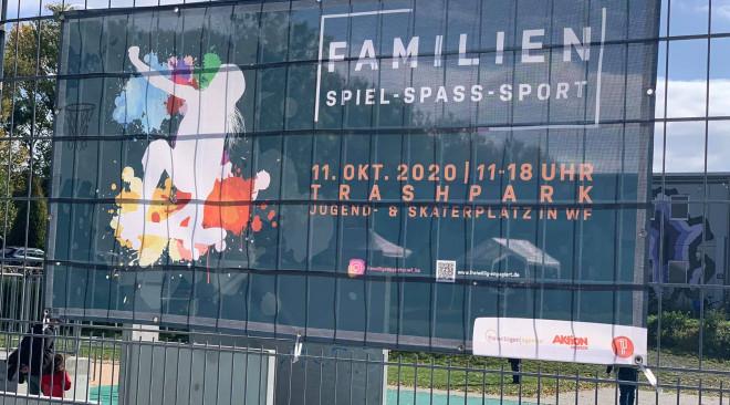 Familien-Spiel-Spaß-Sport-Inklusionstag