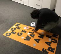 """Frauen setzten ein Zeichen """"Gegen Gewalt an Frauen"""""""