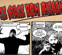 Foto-Comic: Die Sage vom Riesen