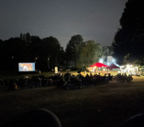 OpenAir-Kino im Freibad Schöppenstedt war ein großer Erfolg