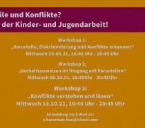 """""""Vorurteile und Konflikte? – Nicht in der Kinder und Jugendarbeit!"""