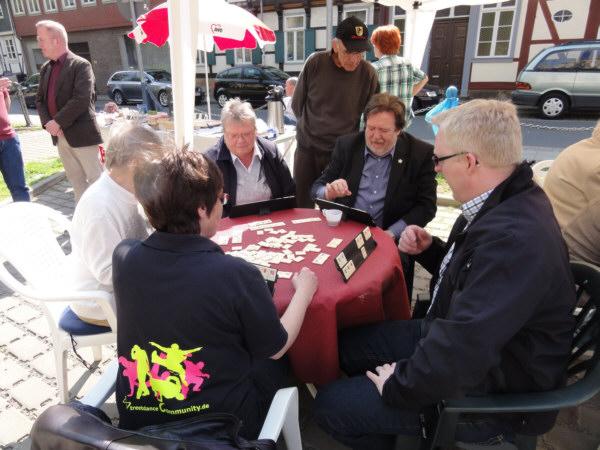 Zweites Parkplatzfest in Wolfenbüttel