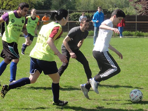 Fußballturnier zur Inklusion