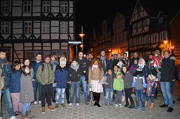 Besuch Auf Dem Weihnachtsmarkt.Besuch Auf Dem Weihnachtsmarkt Wolfenbüttel Freiwilligenagentur