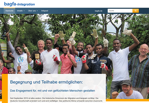 bei der Integration