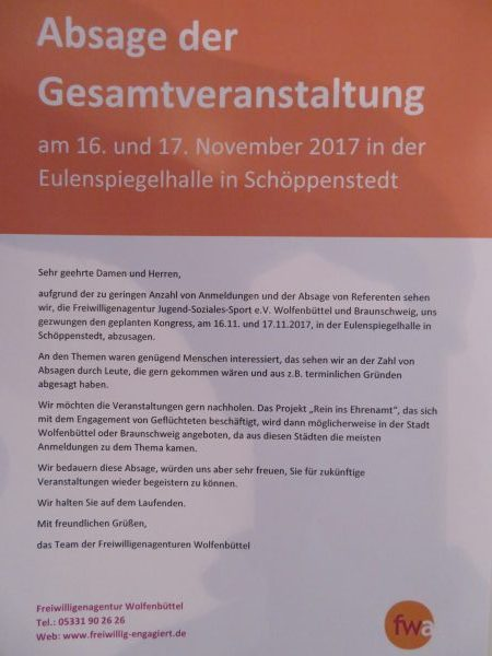 Veranstaltungen in Schöppenstedt