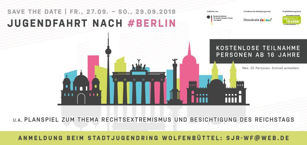 Jugendfahrt nach Berlin