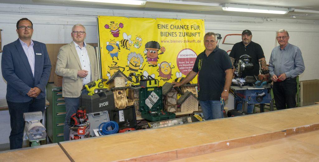 Werkzeug für das Projekt Eine Chance für Bienes Zukunft
