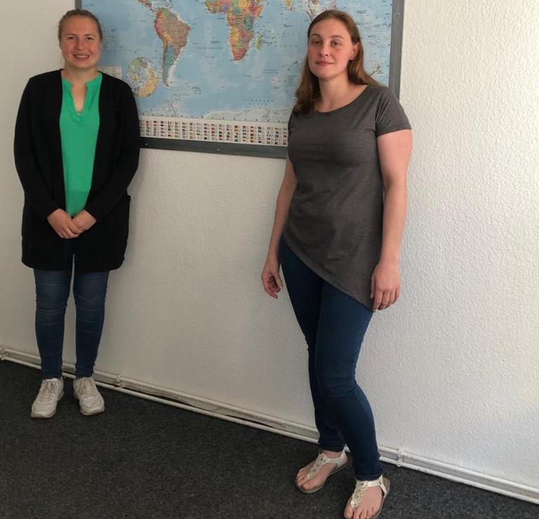 Charlotte Schubert und Steffi Bischoff organisieren Kurse in Wolfenbüttel und Elm-Asse